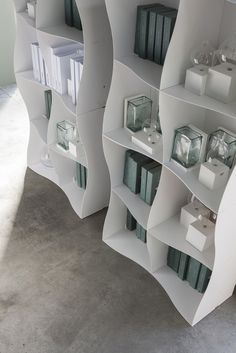 Iron-ic by Ronda Design. #modular #metal #bookcase #design #bookcase