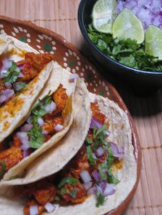 Pork Tacos (Dallas Gas Station Style)  Tacos al Pastor by mexmama74, via Flickr