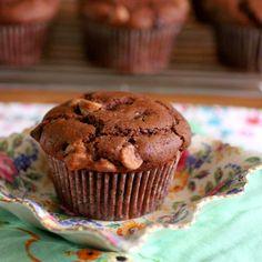 Green Gourmet Giraffe: Chocolate chip and cola muffins