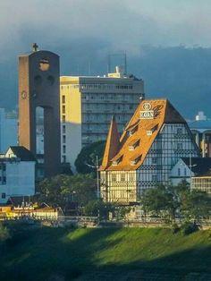 Linda cidade de Blumenau Santa Catarina Brazil