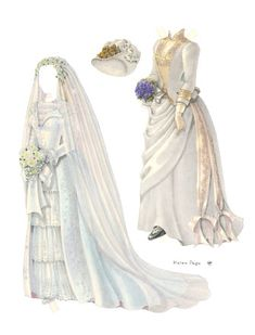 Antique paper dolls and paper toys to make - Joyce hamillrawcliffe - Picasa Web Albums Victorian Paper Dolls, Vintage Paper Dolls, Box Templates, Paper Art, Paper Crafts, Paper Fashion, Women's Fashion, 1880s Fashion, Fashion History