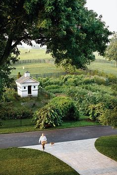 Dede McGehee's garden in Lexington, KY.  This was in Martha Stewart Living, I think.