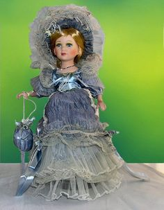 Victorian Porcelain Doll-Victorian doll-Porcelain Victorian Doll-Jessica