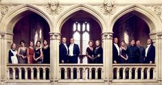 The cast of Downton Abbey - Vanity Fair by Jason Bell December 2011