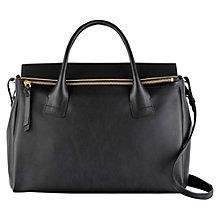 Buy Radley Southbank Large Multiway Leather Bag, Black Online at johnlewis.com
