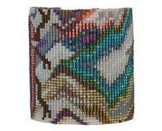 Wide Tahiti Mix Bead Bracelet