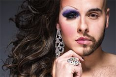Photographer Captures The Two Faces Of Drag Queens - DesignTAXI.com