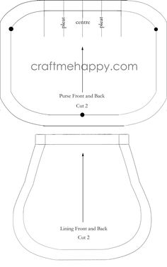 Craft me Happy!: Frame Purse Tutorial
