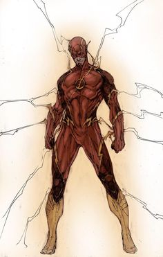 Barry Allen/The Flash Arte Dc Comics, A Comics, Final Fantasy, Dc Speedsters, Brett Booth, Flash Wallpaper, Flash Barry Allen, Reverse Flash, Wally West