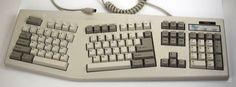 PC Accessories RARE Split Ergonomic Vintage Clicky Keyboard Clickey PS 2 | eBay