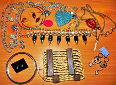 .99 centS!!    JEWELRY LOT NEW USED VINTAGE HANDMADE 3