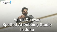 Varun Dhawan Spotted At Dubbing Studio Studio Mumbai, Varun Dhawan, Bollywood News, Social Media, Entertainment, Social Networks, Entertaining