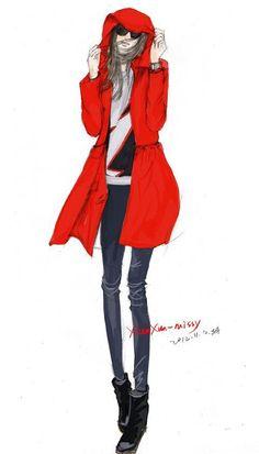 fashion illustration #fashion #illustration