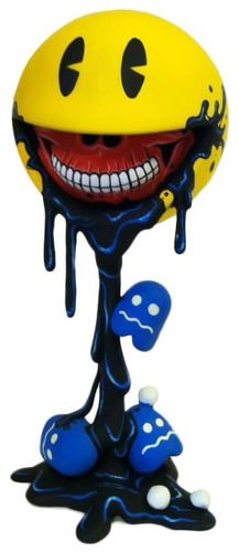 'Smily Grin Pacman Custom' by MaloApril. One of two amazing designs she has produced.