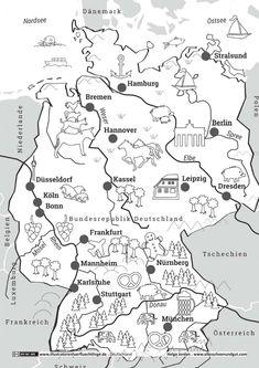 Blank political europe map outline map europe deutschland deutschlandkarte jordan gumiabroncs Gallery