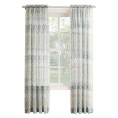 Mineral Larson Viole Window Curtain Panel 84-in