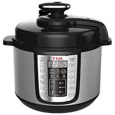 Buy T-Fal 6 Qt. Programmable Digital Electric Pressure Cooker Stainless Steel Black at online store 10 Quart Pressure Cooker, Pressure Fryer, Best Electric Pressure Cooker, Digital Pressure Cooker, Electric Cooker, Pressure Cooking, Ceramic Non Stick, Camping, Kitchen Gifts