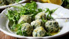 Špenátovo-ricottové gnocchi s citronem ocení nejen mliovníci italské kuchyně. S jemnou ricottou skvěle kontrastuje kyselá citronová šťáva.