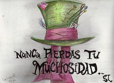 I can't say how much I love this translation.  alicia en el pais de las maravillas: