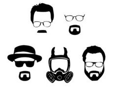 Love this......So simple but immediately identifiable! #BreakingBad