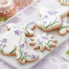 Blooming+Easter+Cookies