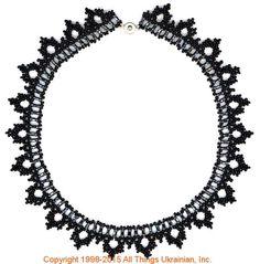 AllThingsUkrainian.com gherdany Bead Jewelry # GN15150