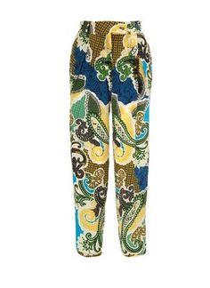 Paisley Print silk trousers, Avenue 32, £365