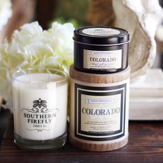 Made in Nashville, this Colorado candle will take you right to the mountains.