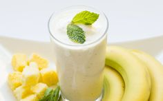 pineapple mint bedtime smoothie