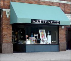 Artifacts Gallery in Indianapolis, Indiana is nestled in the scenic village of Broad Ripple and was established in 1977 as a showplace for American Comtemporary Crafts. #QEvon #Jewelry #handmade