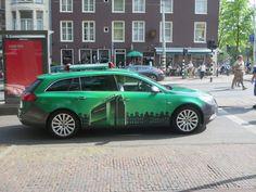 Heineken experience car