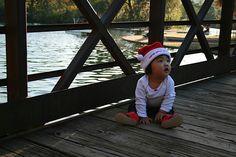 Family Christmas photos/ babys first christmas