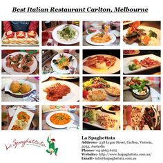 Best Italian restaurants in Carlton & Lygon streets of Melbourne is La Spaghettata. Enjoy the delicious Italian food with your family at our Italian food hub in Melbourne CBD, Australia. For advance booking contact us on 03 9663 Italian Restaurants Near Me, Italian Food Near Me, Italian Dining, Italian Dishes, Romantic Meals, Romantic Food, Food Hub, Melbourne Cbd, Best Italian Recipes