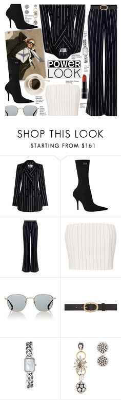 """""""Girl Power Look"""" by voguefashion101 ❤ liked on Polyvore featuring Zimmermann, By Charlotte, Balenciaga, Thierry Mugler, Oliver Peoples, A.P.C., Chanel and Marni"""