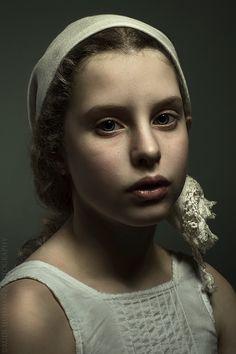 Birgitte Huisman, Golden age painting Style photo portrait. By Rudi Huisman Photography