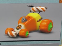 """""""Now that's what I call a sweet ride."""" Wreck-It Ralph concept art."""