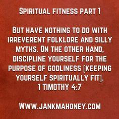 SPIRITUAL FITNESS PART 1