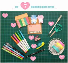 Coloursnme: Planning :: My Top 7 Planning Must Haves