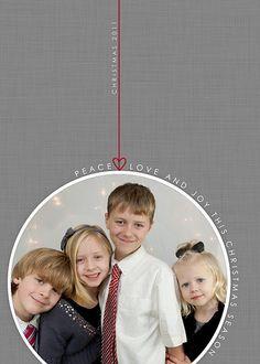 photo christmas card idea