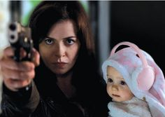 Ah... don't mess with Gwen Cooper's baby! She'll kick your ass! (Torchwood)