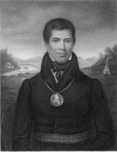 Peter Jones (January 1802 – June was an Ojibwa Methodist minister, translator, . He was named Kahkewāquonāby by his maternal grandfather, Chief Wahbanosay, during a dedicated feast A Thousand Years, Six Nations, First Nations, American Indians, American Art, Peter Jones, Historical Images, North America, Canada