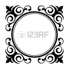 free vector art fancy vintage borders from oh so nifty vintage rh pinterest com free vector borders download free vector borders and frames for certificates