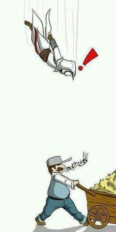 Assasin Creed fail jump