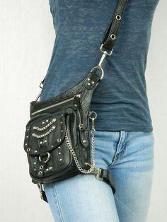 Chrome Underground Pack - Thigh Holster, Protected Purse, Shoulder Holster, Handbag, Backpack, Purse, Messenger Bag, Fanny Pack