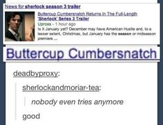 Like, really terrible. | 21 Times The Internet Had Zero Respect For Benedict Cumberbatch's Name
