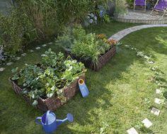 Leroy Merlin vous propose un carré de plantation façon jardin de curé pour laisser pousser et s'épanouir toutes sortes de plantes. 39,90.