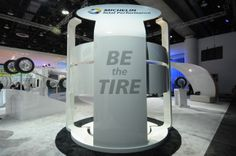 Michelin's Be the Tire simulation, NAIAS 2014, Cobo Center Detroit , MI