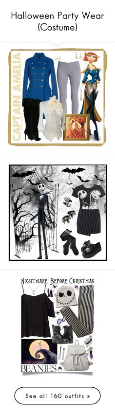 """Halloween Party Wear (Costume)"" by yours-styling-best-friend ❤ liked on Polyvore featuring Marc Jacobs, Versace, Monica Rich Kosann, Bling Jewelry, Yves Saint Laurent, Sarah & Sebastian, Pier 1 Imports, Wet Seal, Miss Selfridge and Trasparenze"