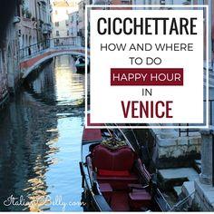 Cicchettare: Where to do Happy Hour in Venice :http://italianbelly.com/food-belly/cicchettare-happy-hour-venice/