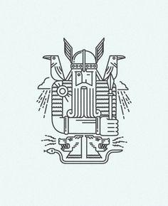 Illustrations and T-shirt designs for Scandinavia club, Moscow. http://www.scandinaviaclub.ru/